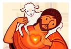 Les Brebis de Jésus Logo