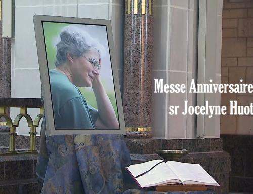 Messe anniversaire – Soeur Jocelyne Huot s.f.a.